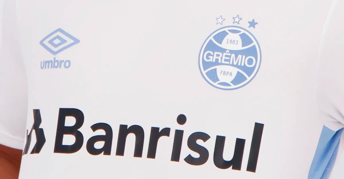 Camisa do Grêmio em parceria com a Umbro