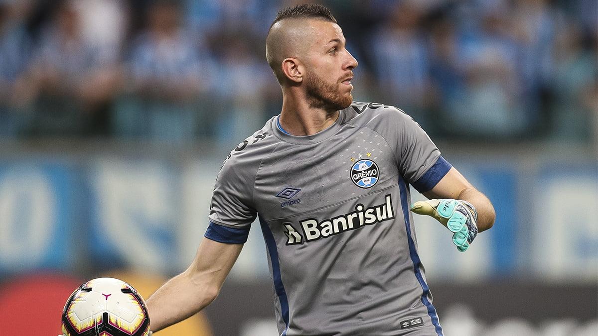 Paulo Victor goleiro do Grêmio