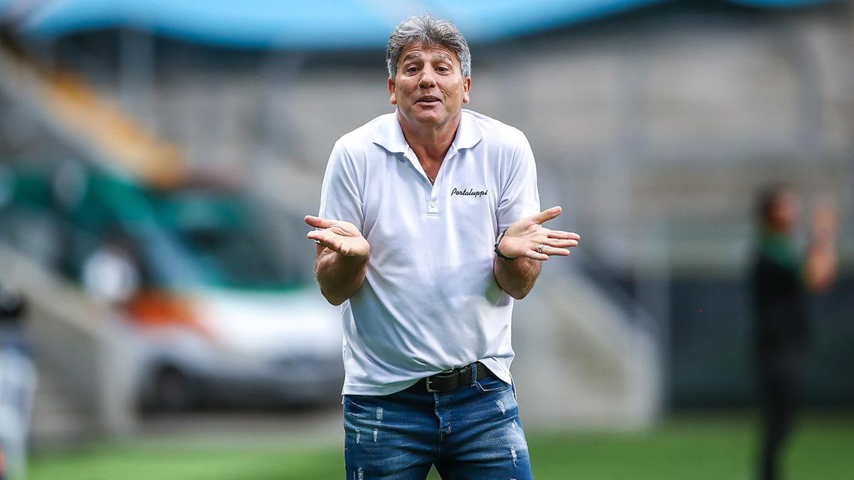 Renato Portaluppi, técnico do Grêmio