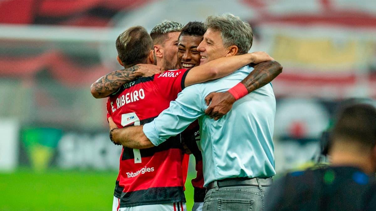 Renato comanda equipe do Grêmio contra o Flamengo